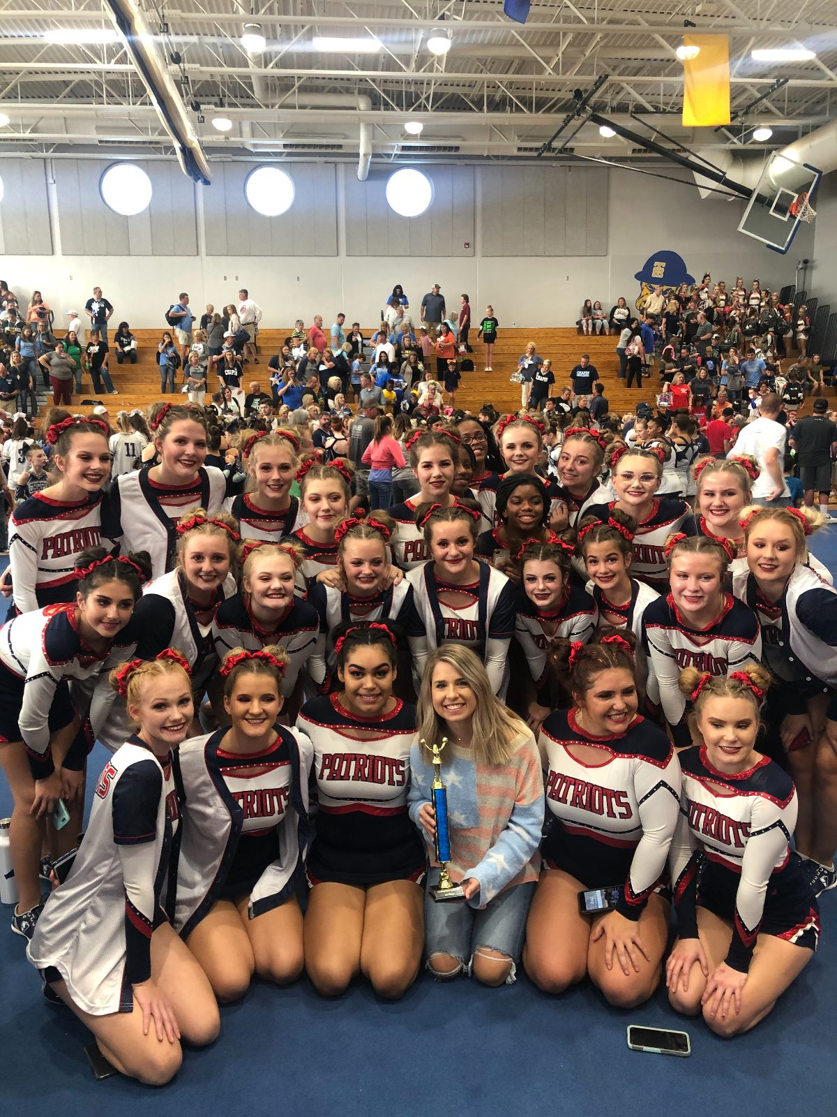 PVHS Competition Cheer Takes 1st Place