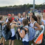 Powdersville Girls tennis defeats West Oak
