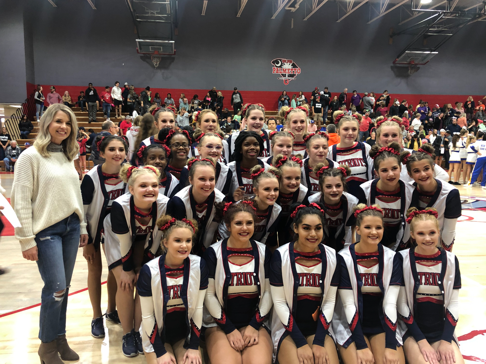 PVHS Competition Cheer Rocks It!