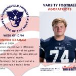 Varsity Football Names Athlete of the Week!