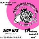 Annual Powderpuff Date is Set!
