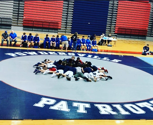 First Region Match for Patriot Wrestling