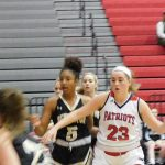 Girls Varsity Basketball falls to Pendleton 41 – 33