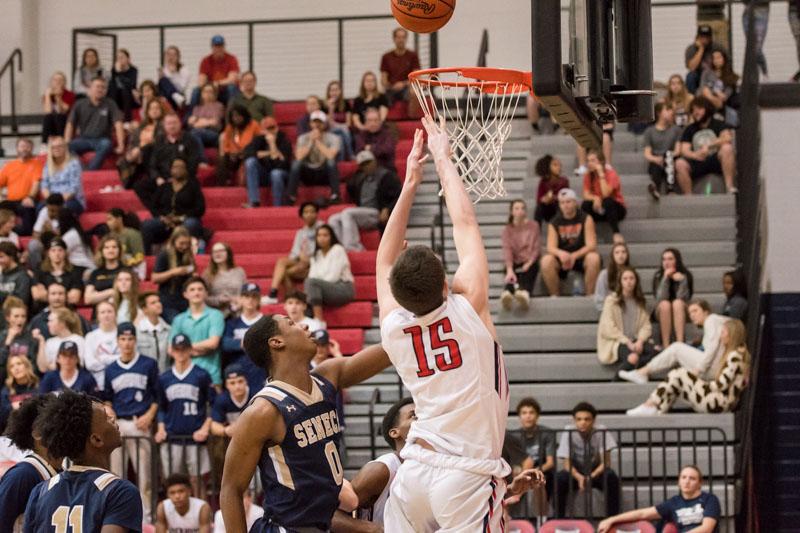 Boys Varsity Basketball Tied for 1st in the Region!