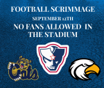 No Fans Allowed at First Football Scrimmage
