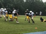 JV and Varsity Compete in their First Scrimmage