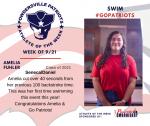 Patriots Swim announces Athlete of the Week September 21st