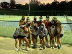POWDERSVILLE Girls Tennis Crushes the  Wren Hurricanes