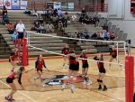 Varsity Volleyball Wins a Tough Region Match