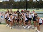Lady Patriots Tennis swings apart the Green Waves