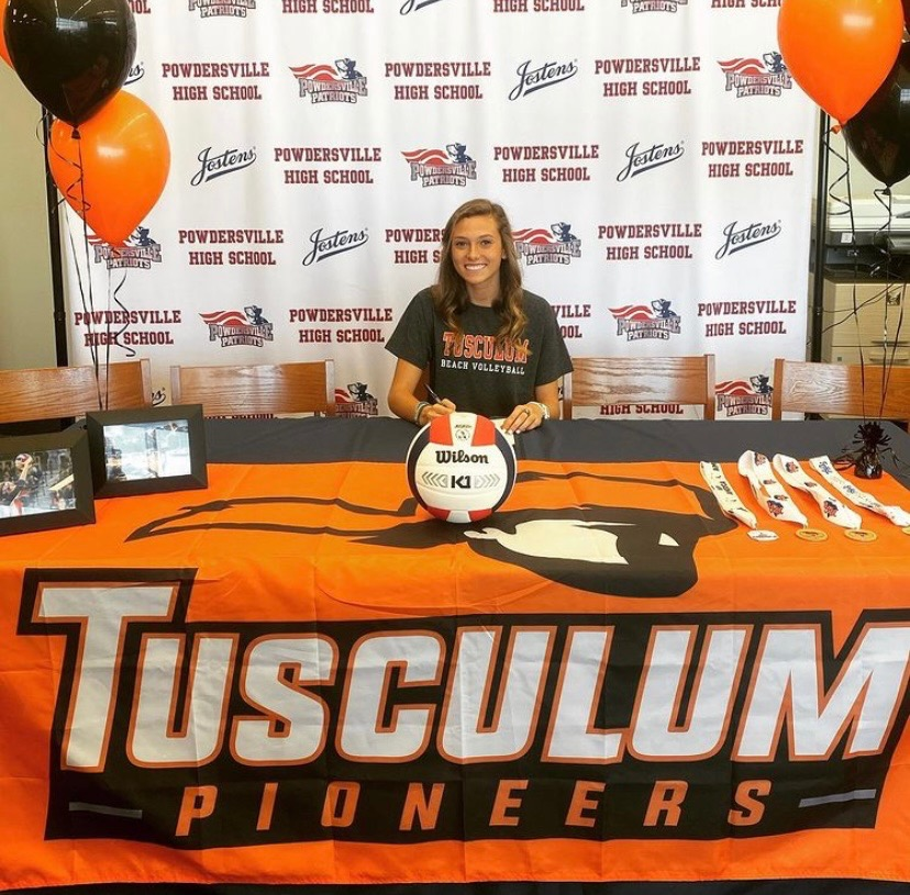 Olivia Knutson, Class of 2021, Signs with Tusculum
