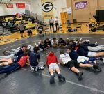 Patriots Wrestling Loses First to AAAA Greenwood High