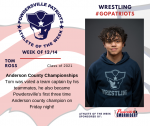 Patriots announce Athlete of the Week for Wrestling