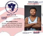 Patriots announce Athlete of the Week for Wrestling January 18th