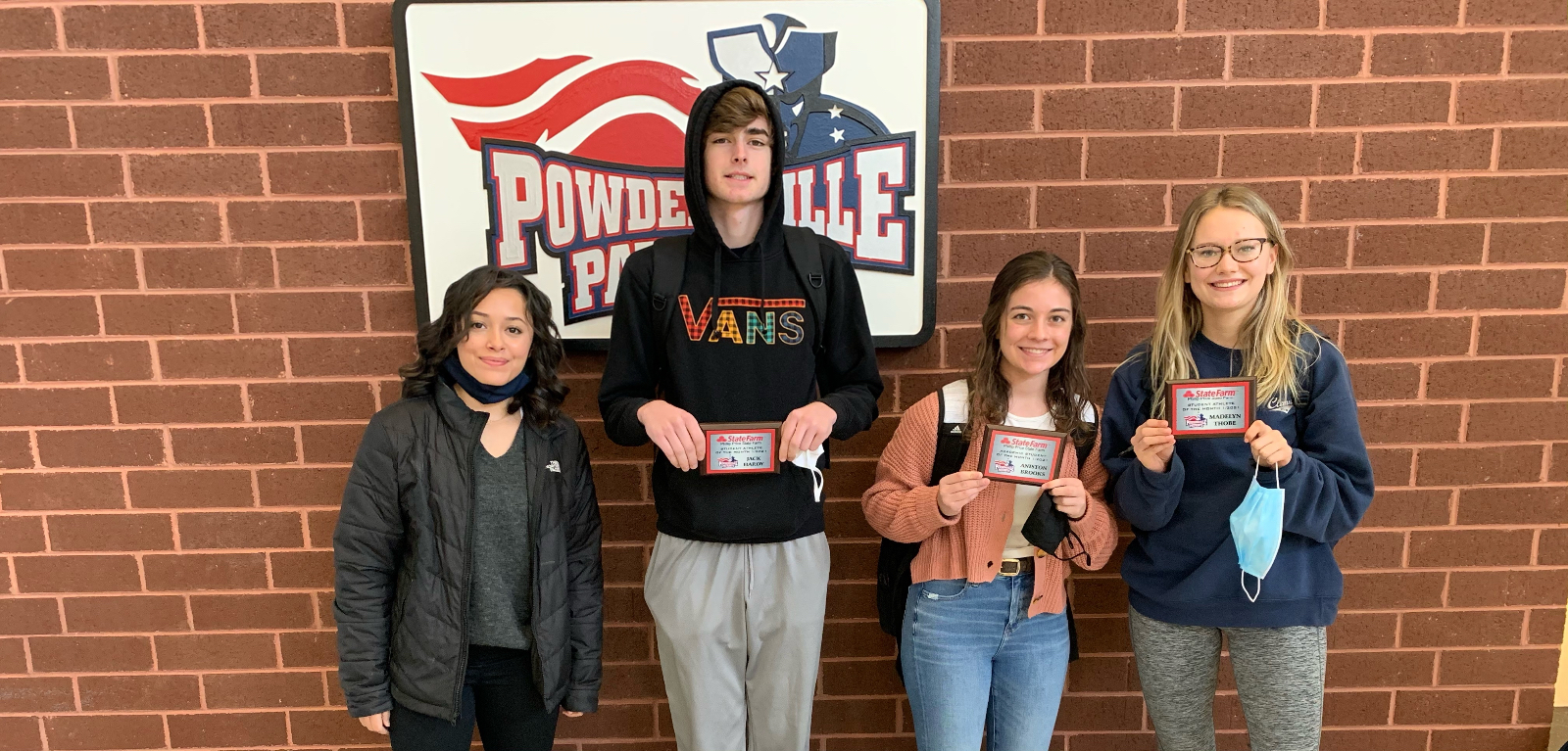 State Farm Recognizes Three Student Athletes