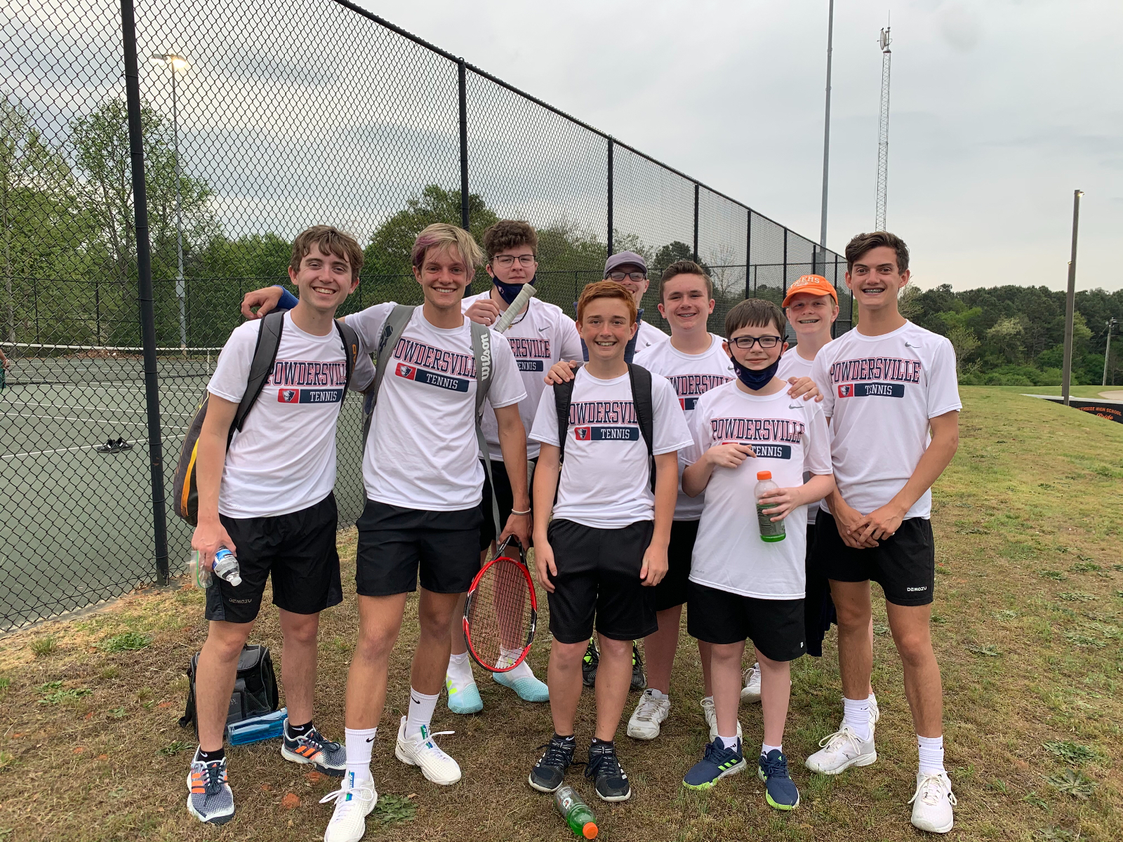 Patriots Boys Tennis are Region Champs!