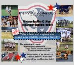 MARK YOUR CALENDAR: May 12th PVHS Booster Club meeting and The Armory Training Facility Open House