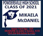 SENIORS!!! Order your Graduation yard signs before Sunday! Link below
