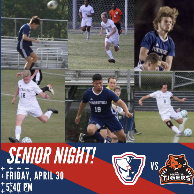 Patriot Soccer Senior Night!