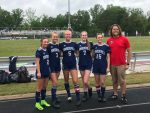 Lady Patriots Soccer Celebrate Their Seniors AND Win Round 1 of Playoffs!