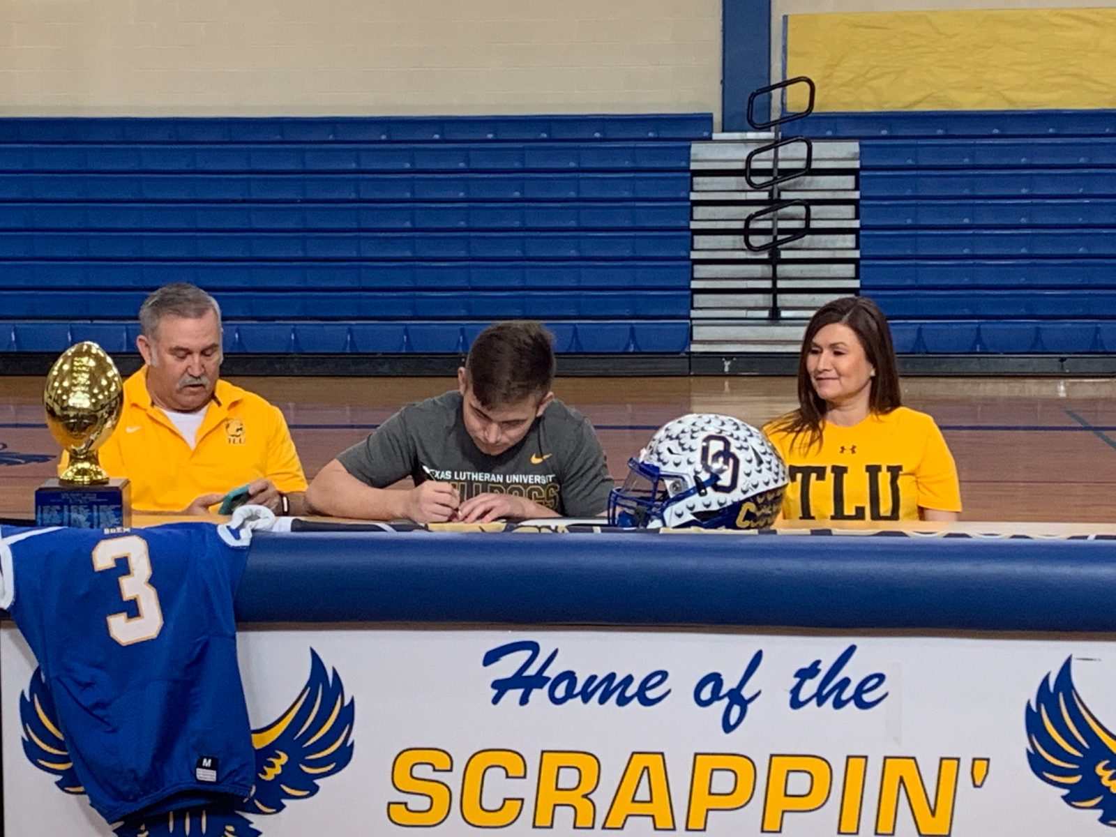 River Sorrells Signs With Texas Lutheran University