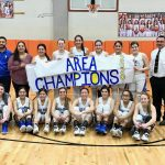 Lady Owls Win Area Round Against Lyford.