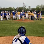 Owls use big 6th inning to beat Poth at home 5-4