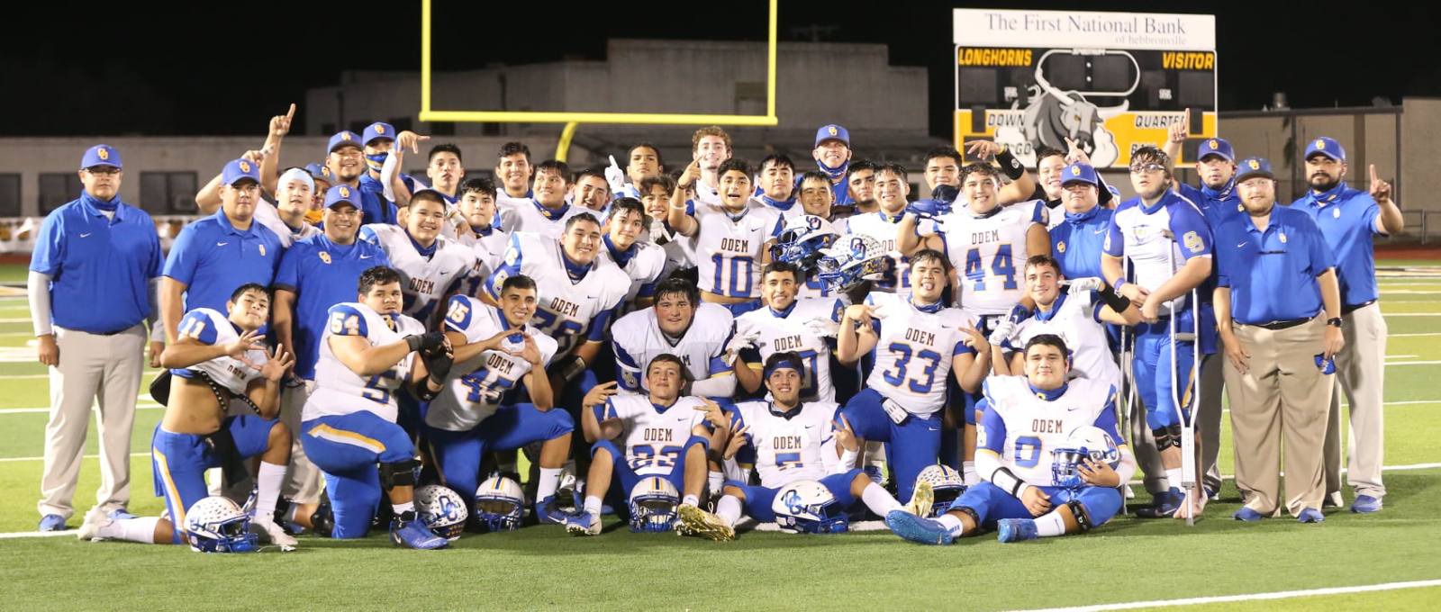 Football Captures District Championship