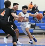 BIG 4TH PERIOD LEADS OWLS TO 49-35 WIN OVER ORANGE GROVE