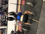 Girls Varsity Powerlifting finishes #6 place at Mathis Powerlifting Meet