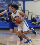 ODEM OWLS FIGHT OFF GEORGE WEST 51-42
