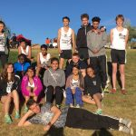 Harrison High School Coed Varsity Cross Country finishes 8th place