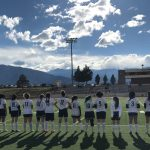 Harrison High School Girls Varsity Soccer beat Widefield High School 2-1