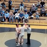 Panthers finish 7th in league wrestling tourney