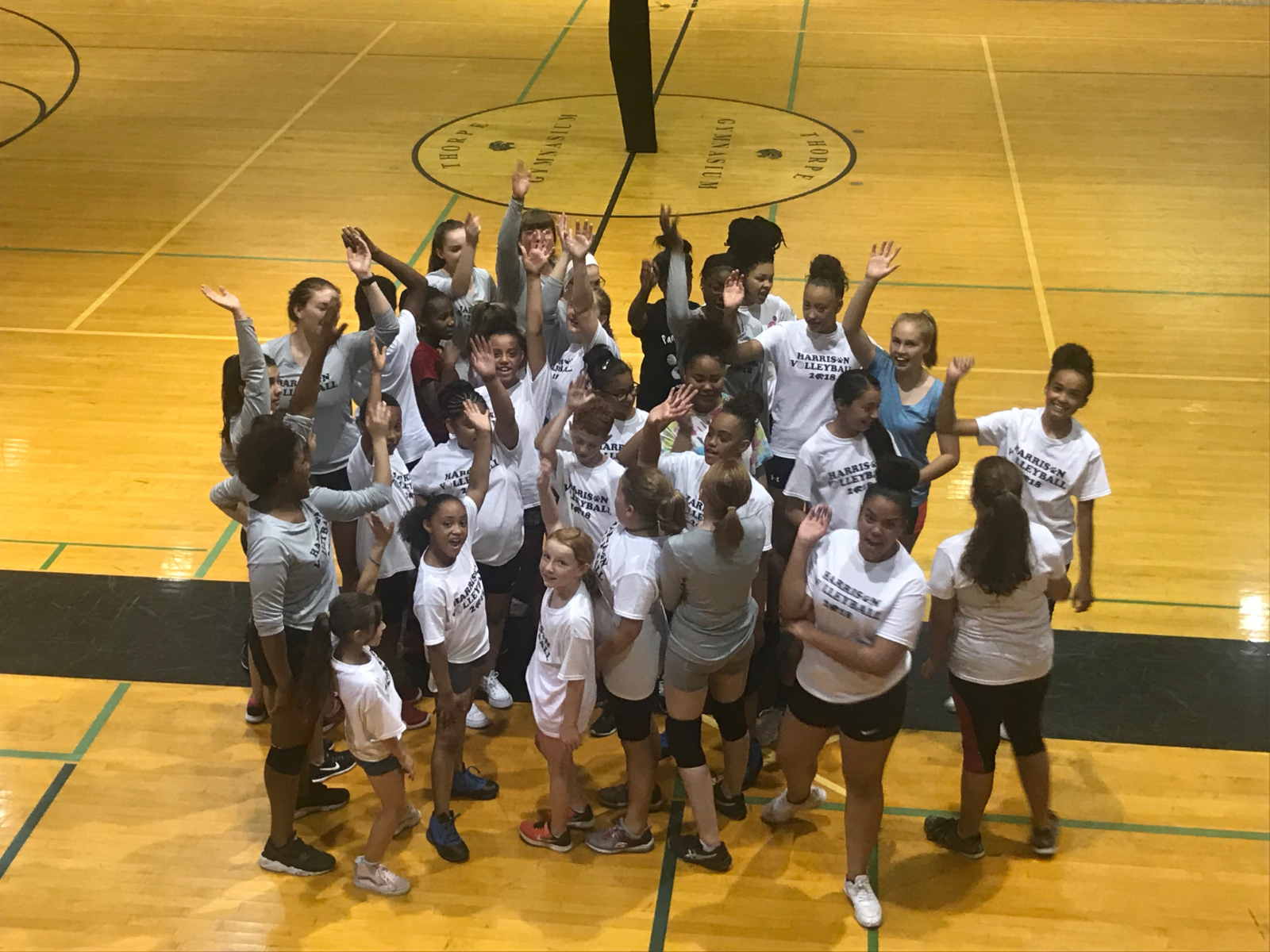 Harrison Volleyball Panther Cub Camp: August 1-3