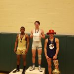 Columbia High School Boys Varsity Wrestling finishes 8th place