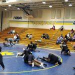 Boys Varsity Wrestling falls to Edisto 36 – 33