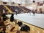 Boys varsity wrestling falls to #3 Ninety Six High School