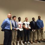 Ben Brown Honored as Lineman of the Week