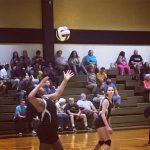 Pendleton High School Girls Junior Varsity Volleyball falls to Wallhalla 2-0