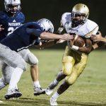 Pendleton High School Varsity Football falls to Powdersville High School 37-34