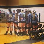 Pendleton High School Girls Varsity Volleyball falls to West-Oak 3-0