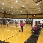 Pendleton High School Girls Varsity Volleyball falls to Crescent High School 3-0