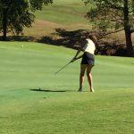 Pendleton High School Girls Varsity Golf falls to Powdersville High School 344-384