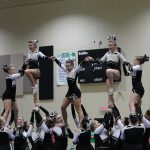 Pendleton High School Girls Varsity Competitive Cheer finishes 3rd place