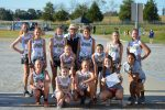 GIRLS XC PLACES FIRST IN TIGER INVITATIONAL