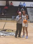 Congratulations to Somarian Webb for scoring her 1000th point.