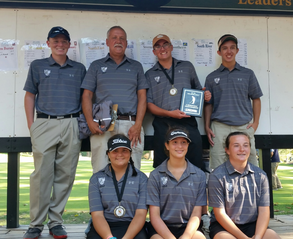 NCHS Golf Wins C Division