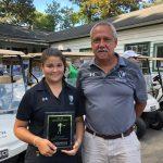 Karlie Zamora Overall Golf County Champion