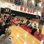 Gold Medalist Aldis Berzins Visits Girls Volleyball